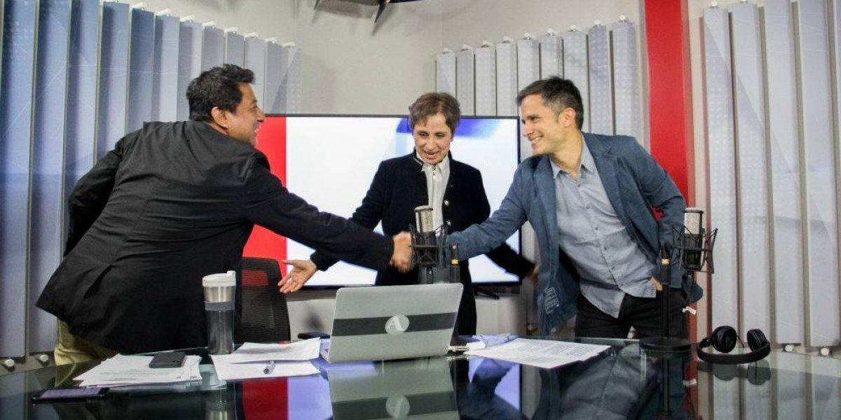 Así arrancó la primera emisión de Aristegui en su regreso a la radio