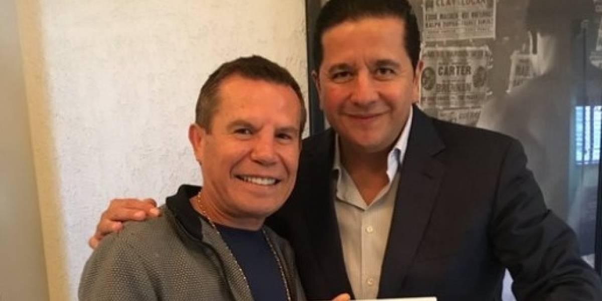 JC Chávez renovó contrato y se burló del 'Canelo' Álvarez