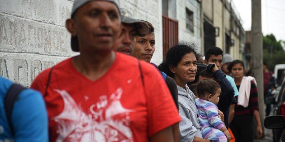 ONU ayudará a México por caravana migrante de hondureños