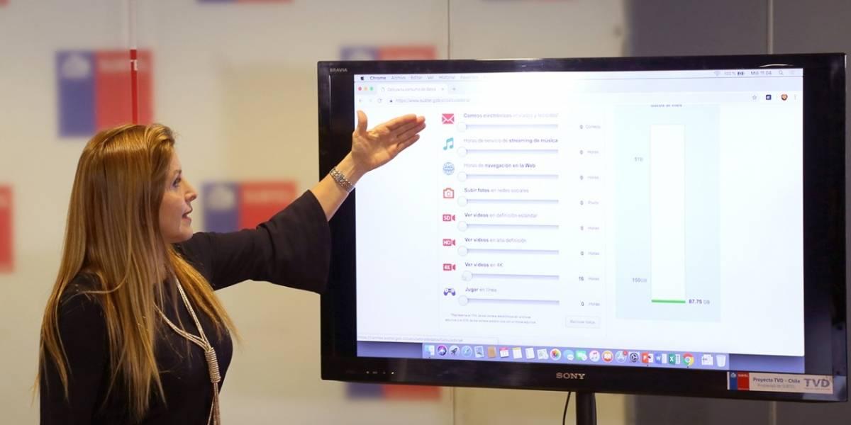 Subtel entrega radiografía de consumo de datos en Chile: Explotó tráfico móvil y lo que más se consume es video