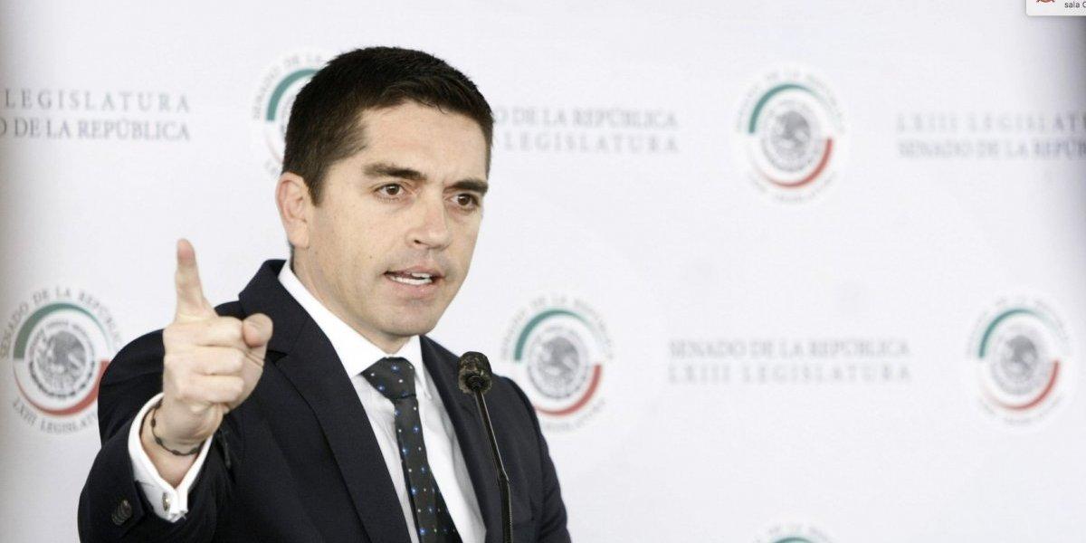 Diputado Luis Fernando Salazar renuncia al PAN; se va a Morena