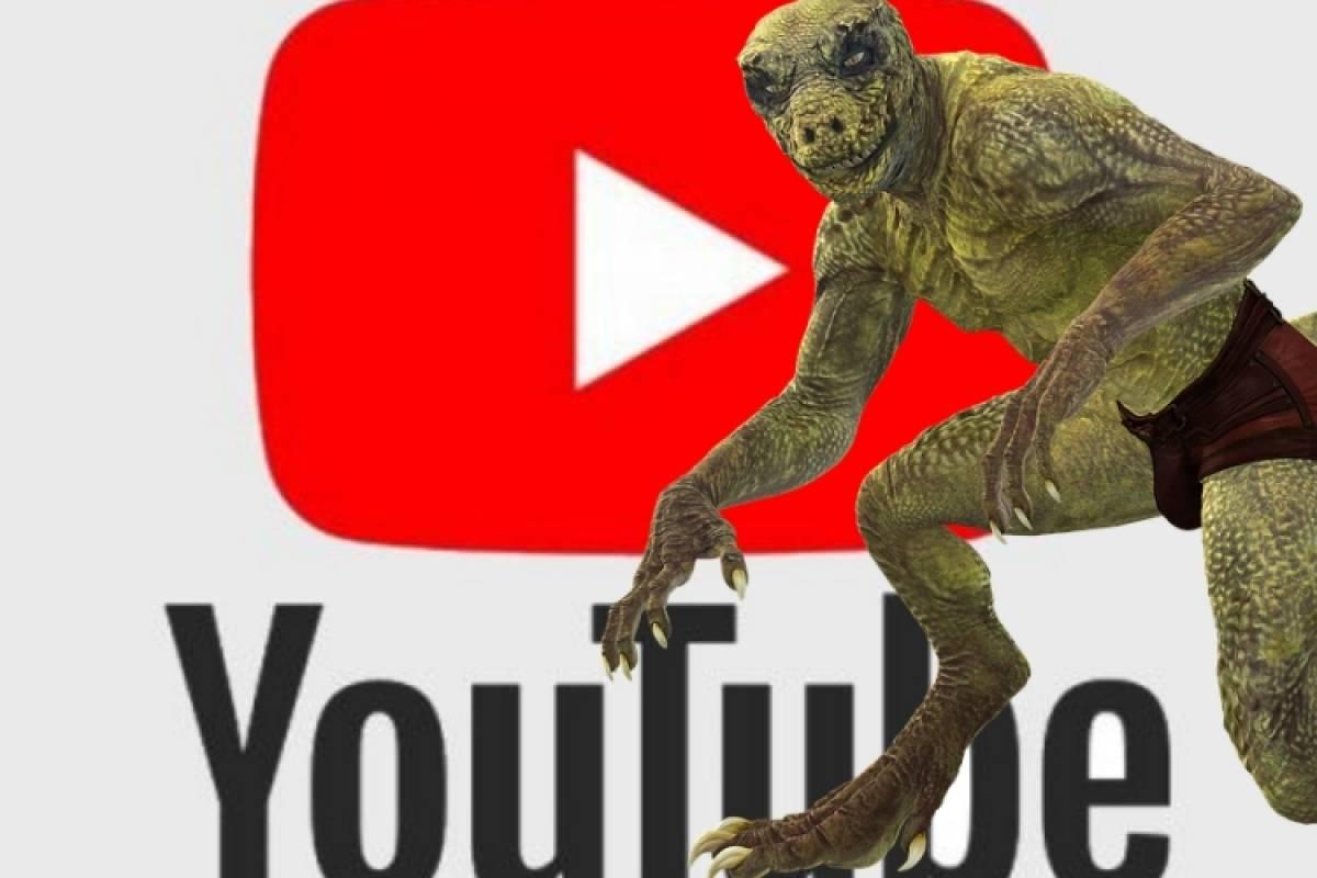 Este Es El Video Del Reptiliano Que Según Internet Provocó La Caída Mundial De Youtube