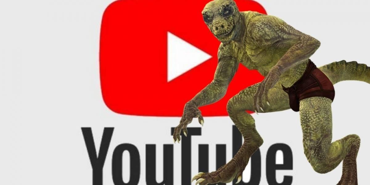 Este es el video del reptiliano que, según Internet, provocó la caída mundial de YouTube