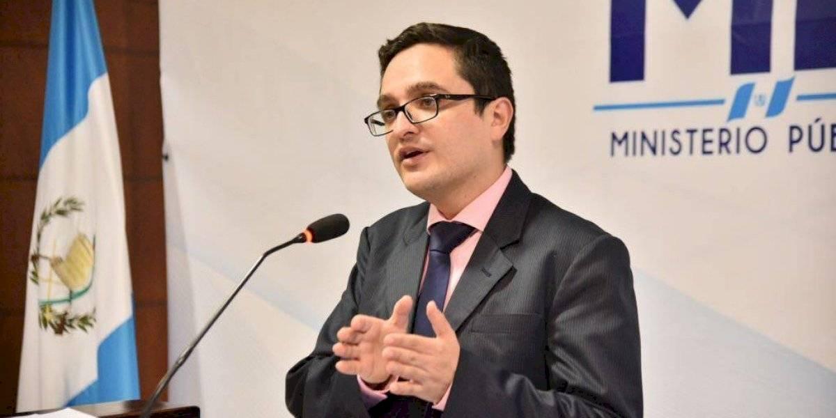 Fiscal Juan Francisco Sandoval presenta denuncia contra mecanismos que afectan su labor profesional