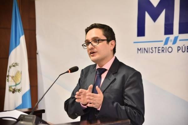 Fiscal Juan Francisco Sandoval