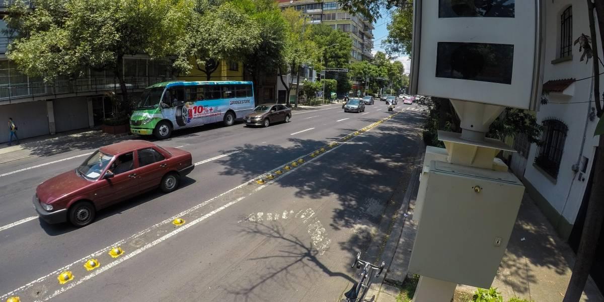 Radares de velocidad serán reubicados en Reforma, Eje Central y Periférico