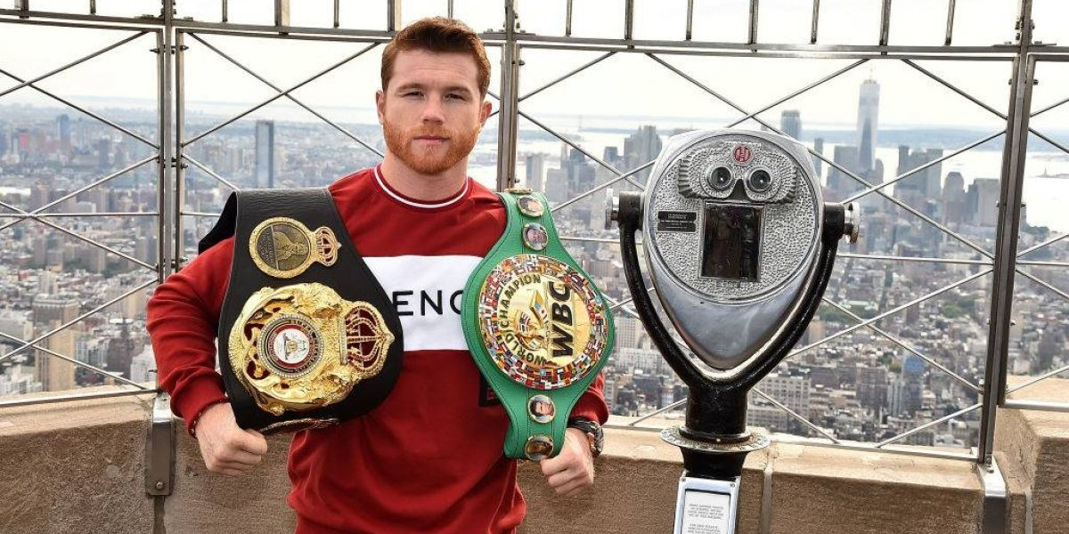 El boxeador mexicano Canelo Álvarez tendrá el contrato más millonario en la historia del deporte