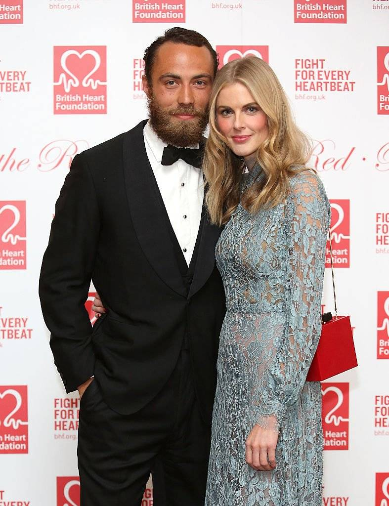 James Middleton e Donna Air