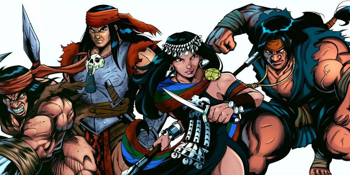 """Hay trailer de """"Guardianes del Sur"""": Los superhéroes mapuches que buscan conquistar Netflix"""