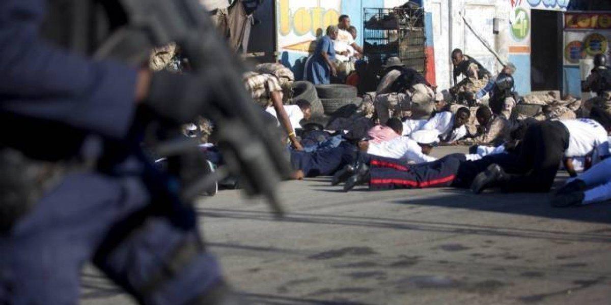 Varios heridos en Haití durante acto encabezado por el presidente Moise