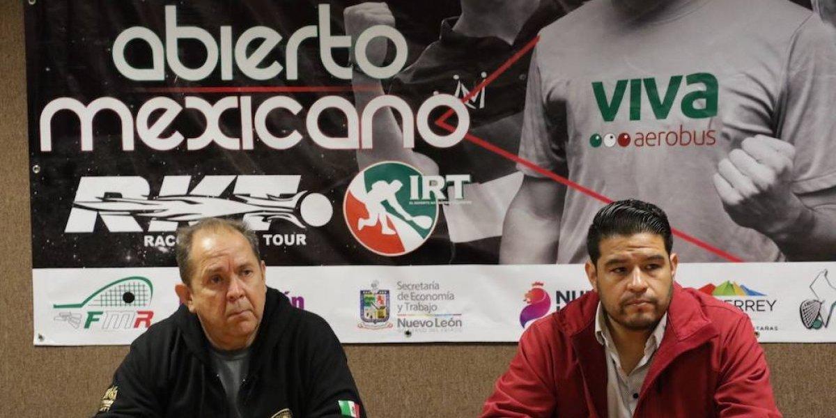 Longoria y Waselenchuk, las cartas fuertes del Abierto Mexicano de Raquetbol