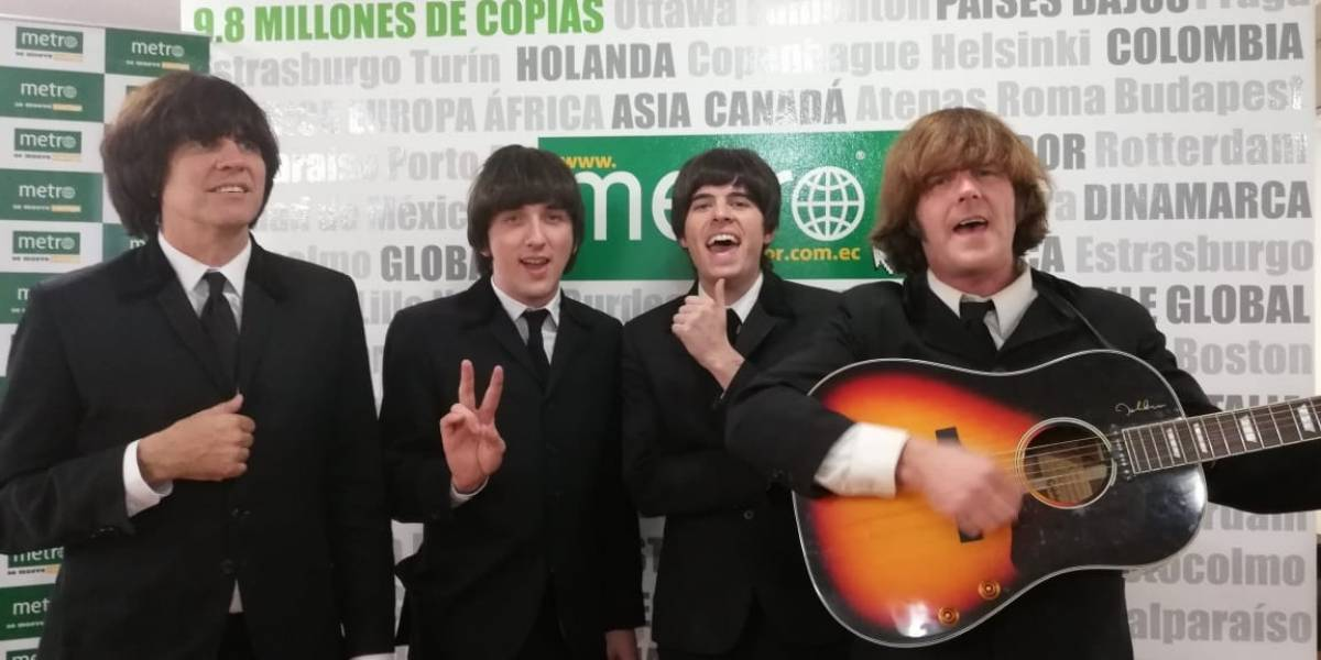 Liverpool Legends trae la Beatlemania a Ecuador
