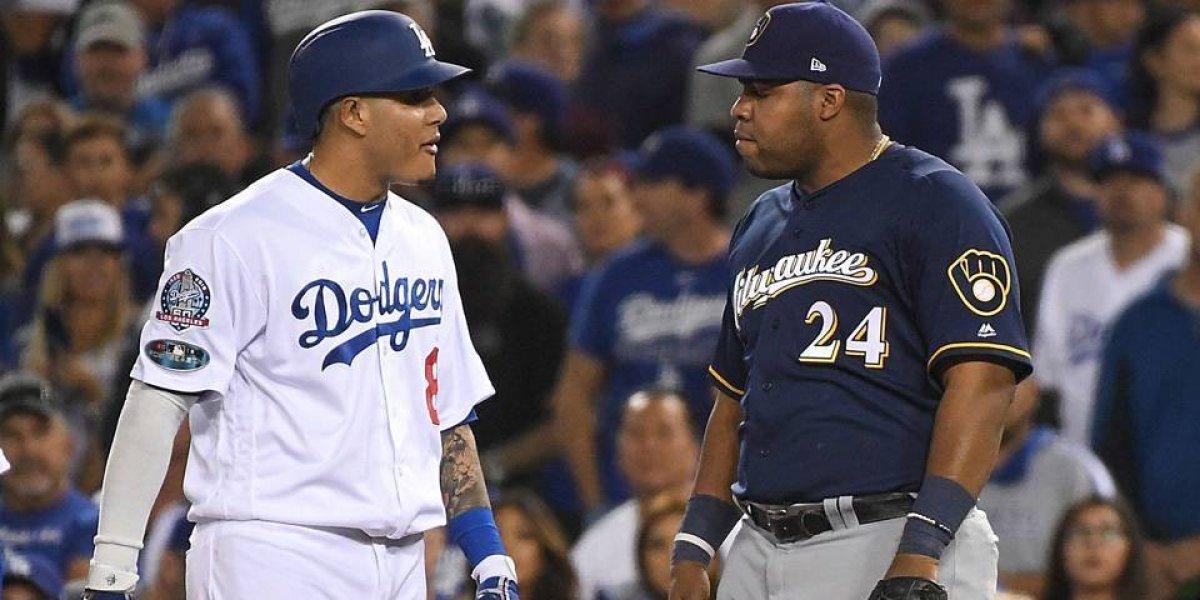 Machado y Aguilar dejan atrás incidente en la primera base