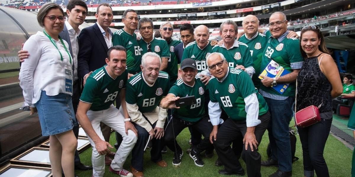 Selección mexicana de futbol de México 68 se dejó ganar partidos
