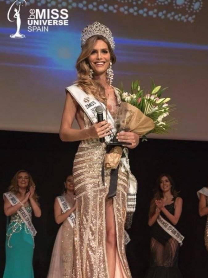 Ángela Ponce, Miss España 2018