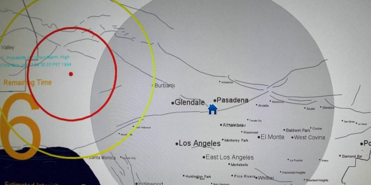 Avanza sistema de alerta sísmica en costa oeste de EEUU
