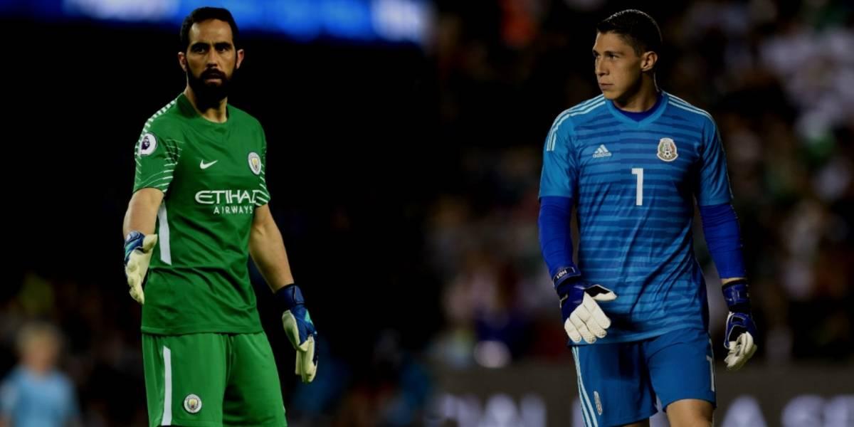 Portero del Manchester City elogia a Hugo González