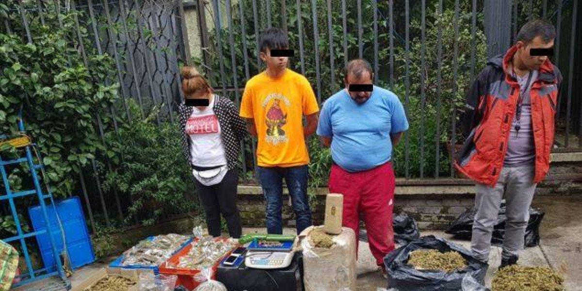 Aseguran más de 100 kilos de drogas en Tepito