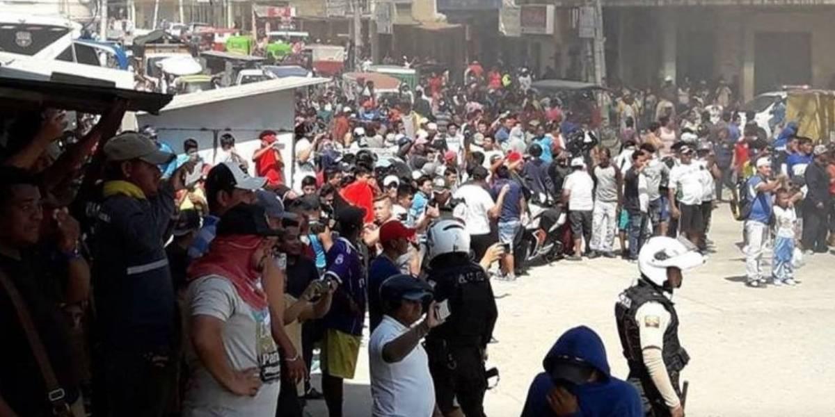 Policía emite un comunicado relacionado con los hechos violentos en Posorja