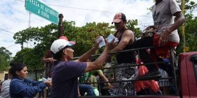 Los guatemaltecos han mostrado solidaridad con los migrantes.