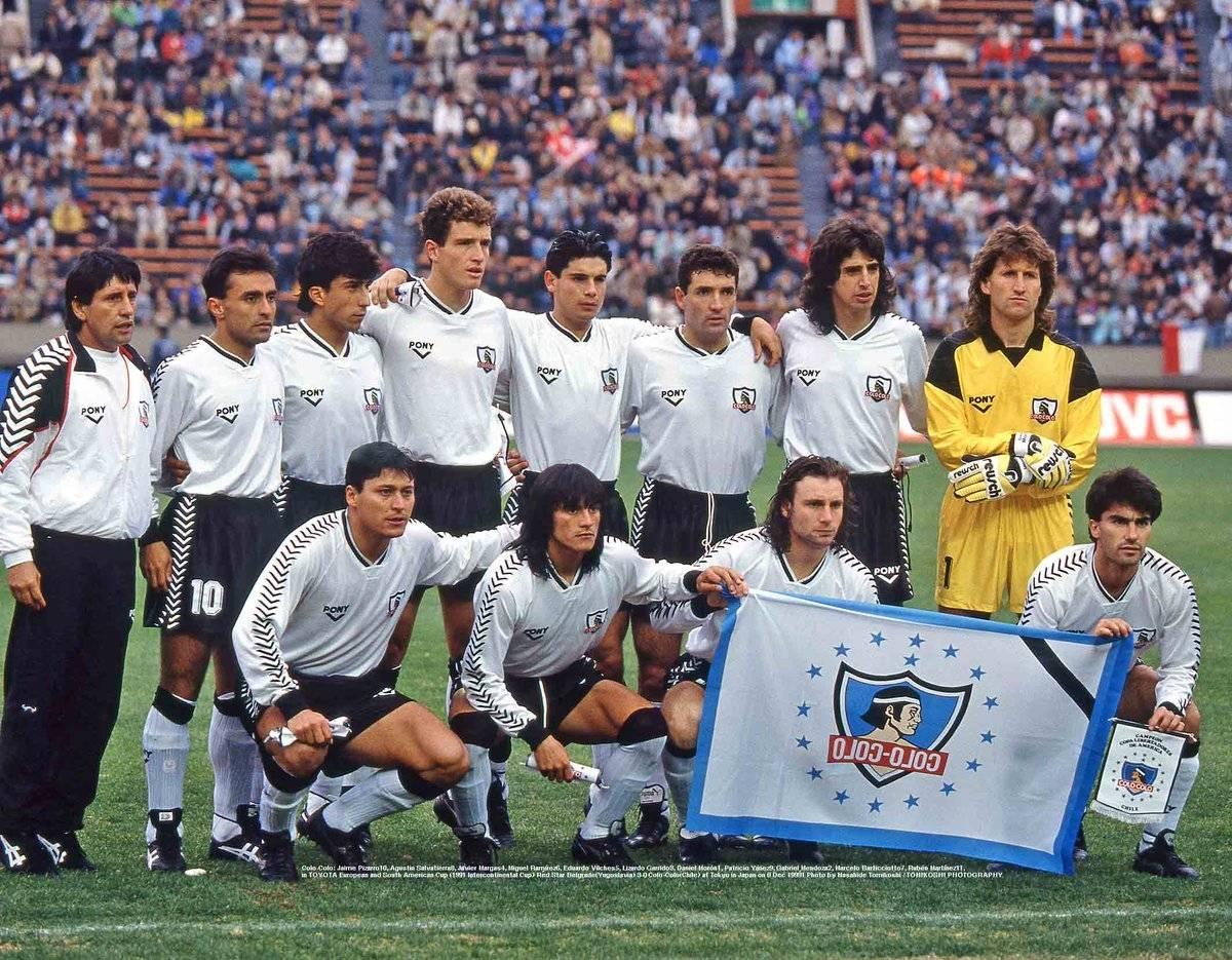 Colo Colo en la Copa Intercontinental 1991 Photo by Masahide Tomikoshi / TOMIKOSHI PHOTOGRAPHY