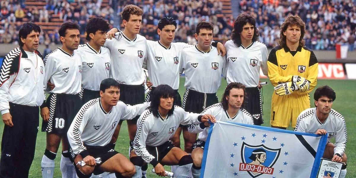 """Las inéditas fotografías de Colo Colo jugando la """"final del mundo"""" en 1991"""