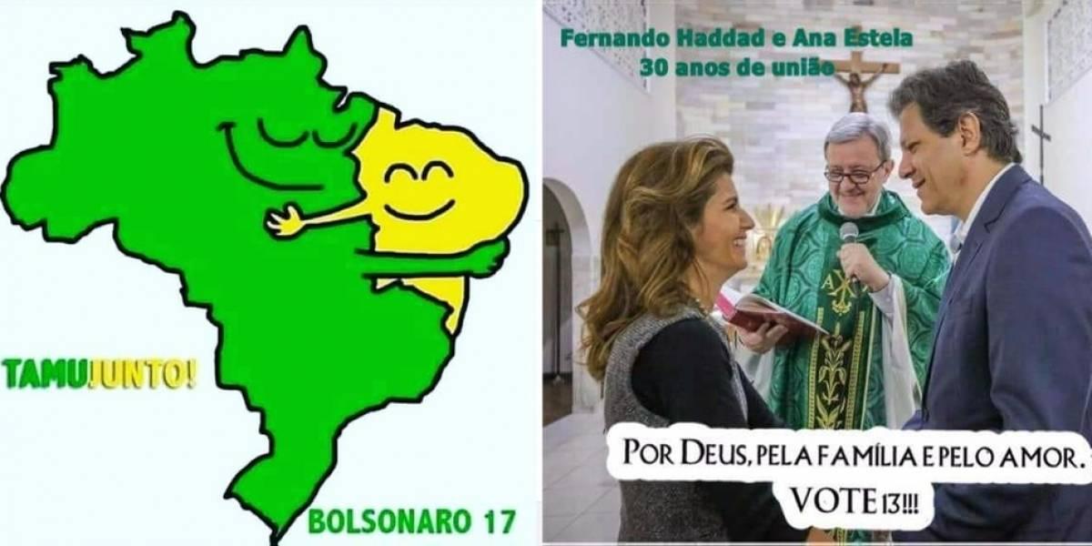 Eleições 2018: Haddad vai à igreja e Bolsonaro abraça Nordeste, as novas estratégias da reta final nas redes