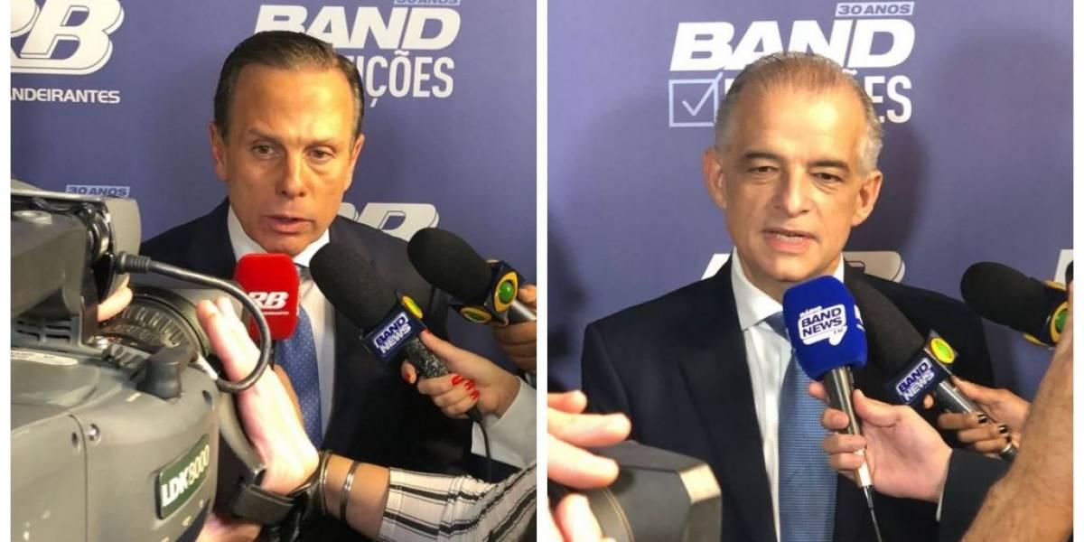 Ibope/SP: Doria tem53% dos votos válidos; França, 47%
