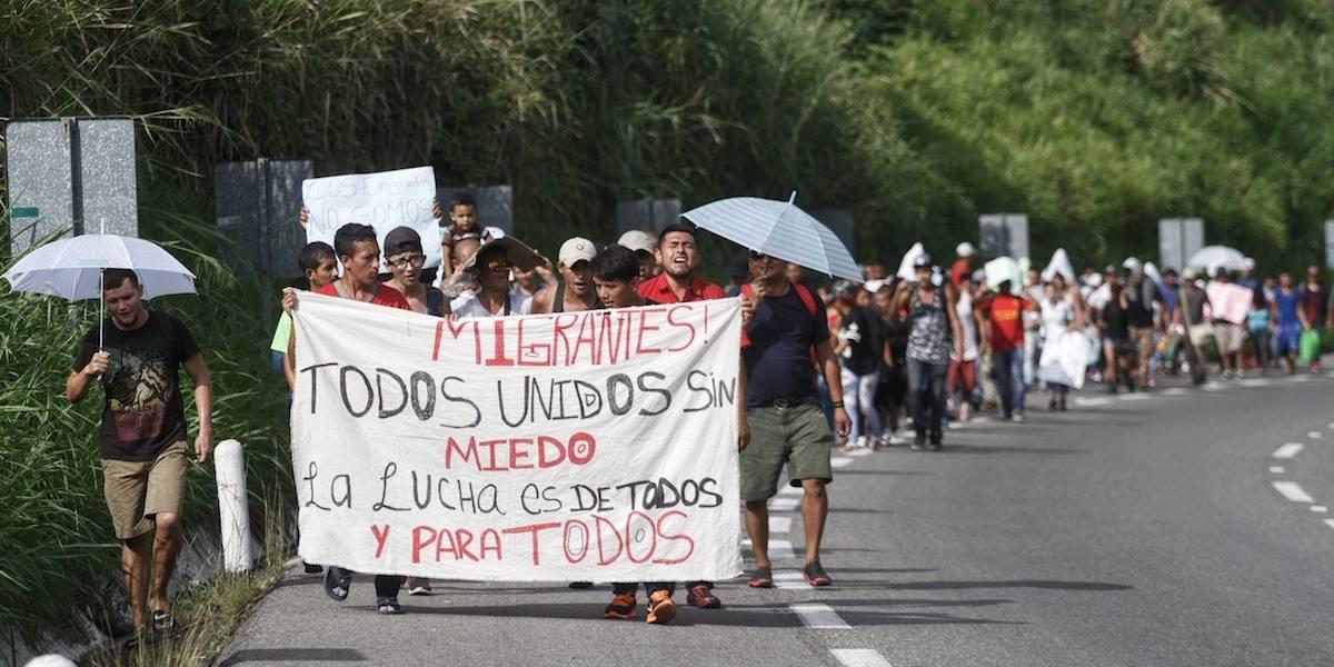 Descarta Gobernación deportación masiva de caravana migrante
