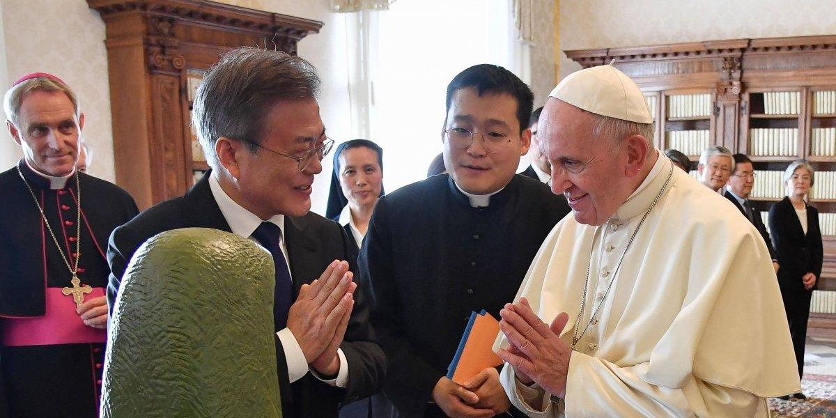 El papa Francisco abre a la posibilidad de visitar Corea del Norte