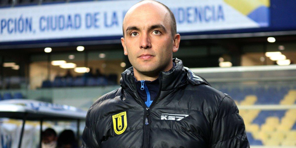 Bozán juega al misterio en la U. de Concepción y no quiso revelar la formación que enfrentará a la UC