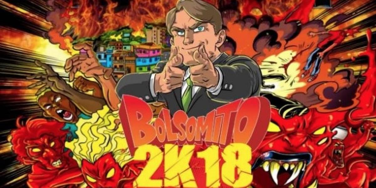 """""""Bolsomito 2k18"""": el videojuego donde  Bolsonaro lucha contra gays, comunistas, feministas y militantes del PT"""