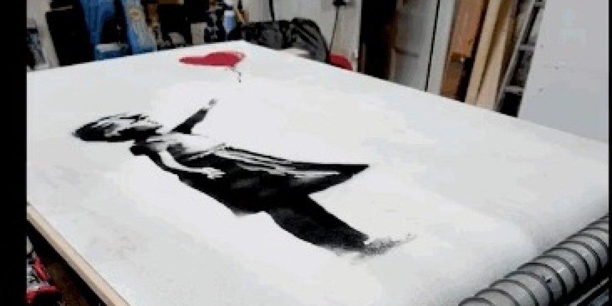 """""""En las pruebas siempre funcionó"""": El """"fail"""" de Banksy en la autodestrucción de su obra"""