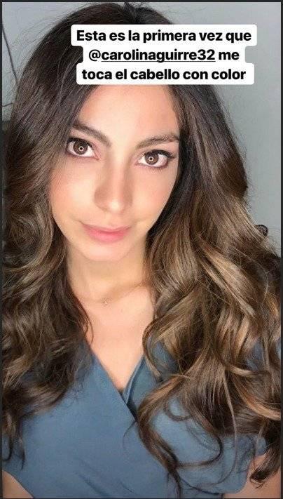 La Miss Ecuador, Virginia Limongi, cambió de look
