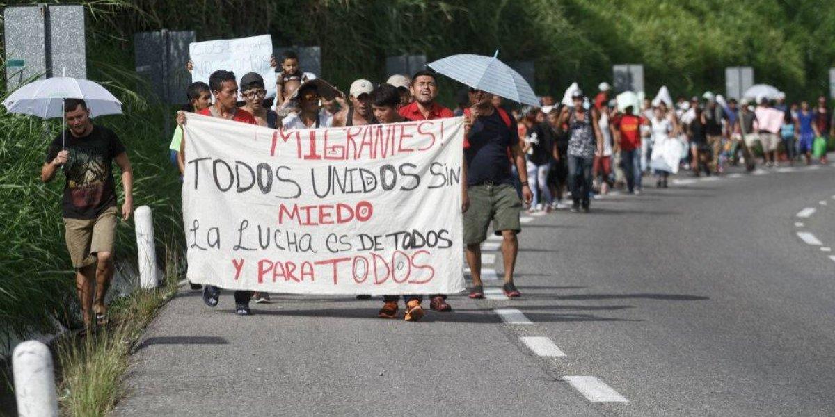 México pide ayuda a la ONU para atender a caravana migrante