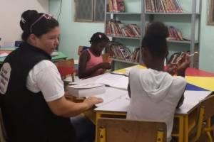 Carolina Torres, bibliotecaria Villa Luz