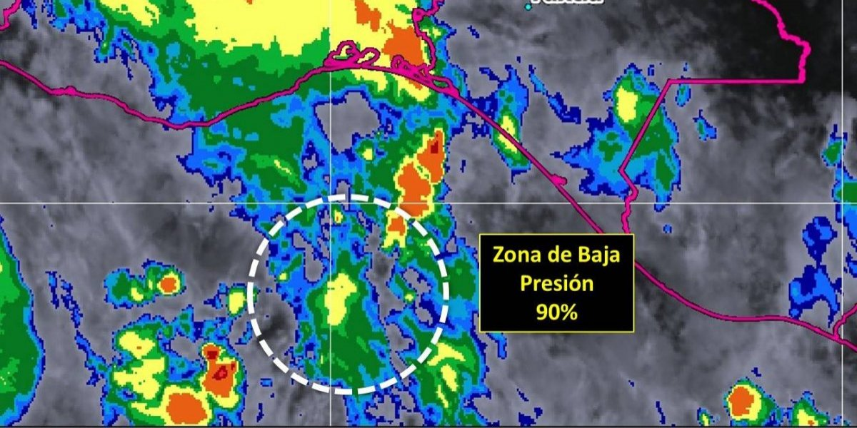 Formación de ciclón tropical favorece lluvias torrenciales en varios estados del país