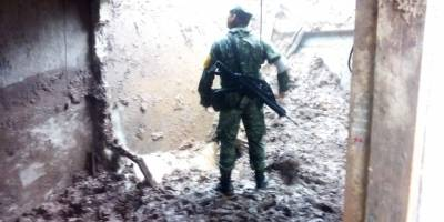 Deslave en San Pedro Ocotepec