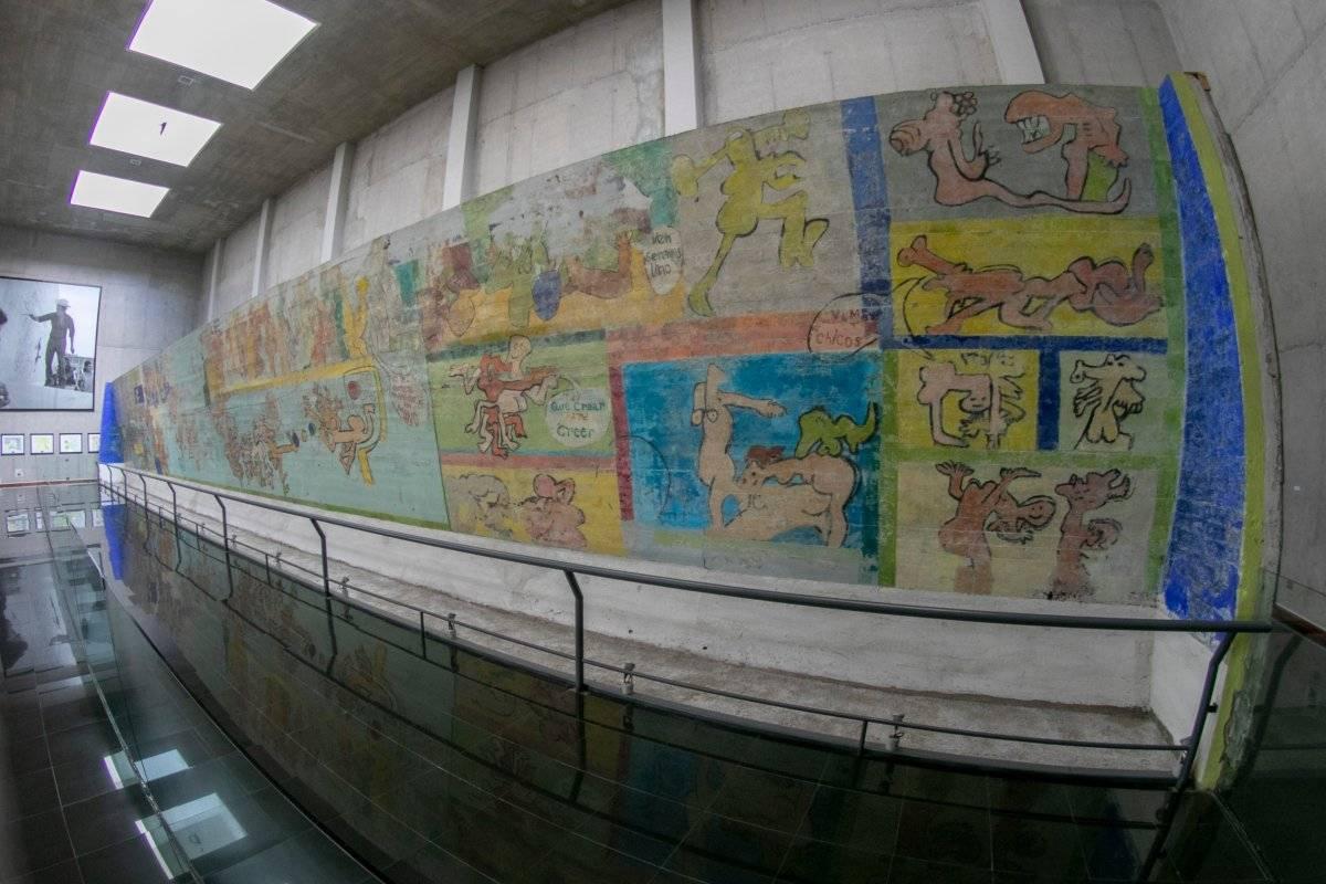 Mural El primer gol del pueblo chileno
