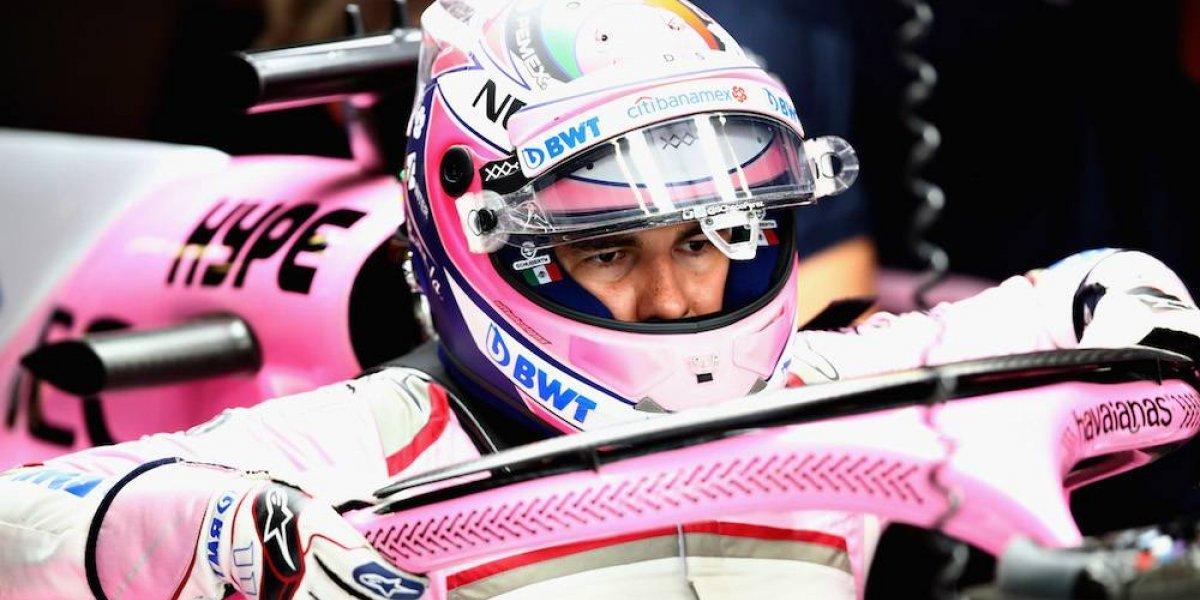 Fue muy fácil tomar la decisión y permanecer con Force India: Checo Pérez
