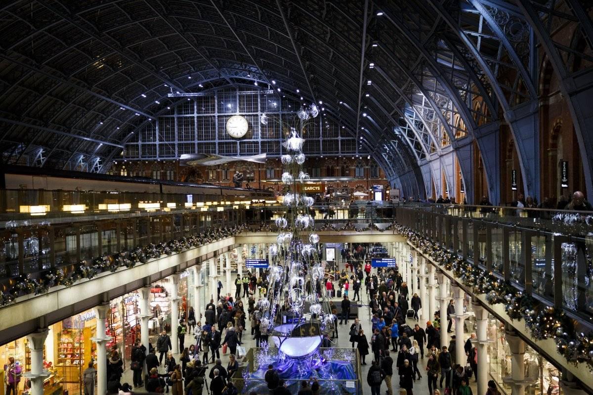 Estação St. Pancras, em Londres (Reino Unido)