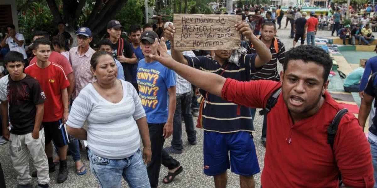 Piden respetar derechos humanos de migrantes centroamericanos