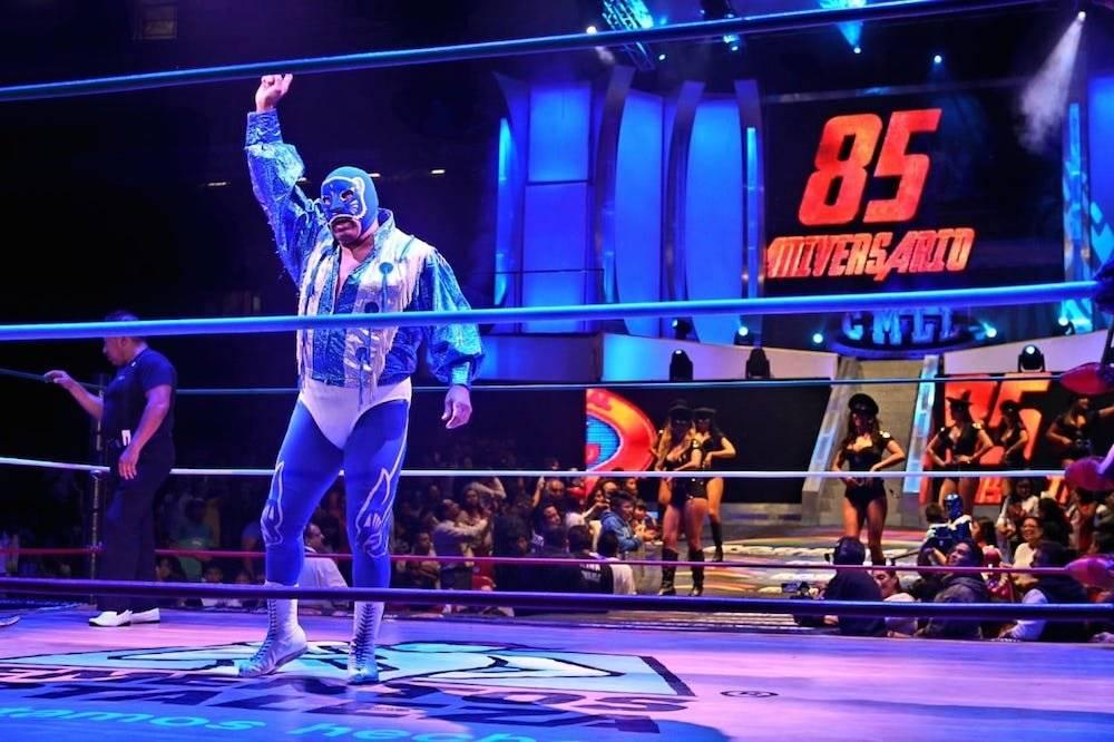 Una verdadera leyenda de la lucha libre. / CMLL