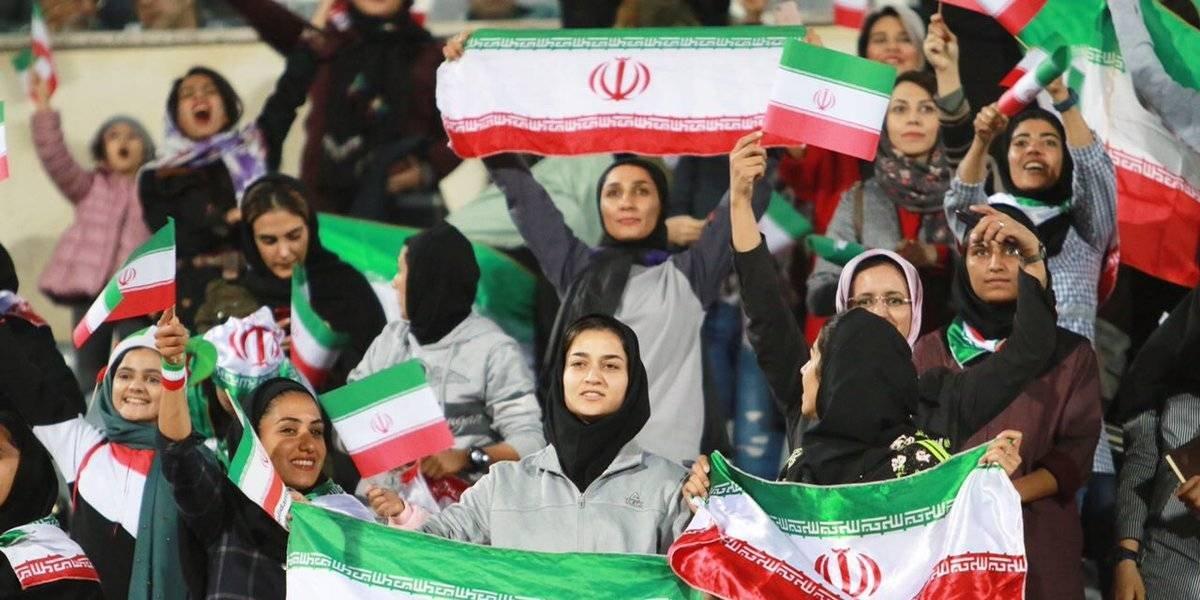 Mujeres iraníes que asistieron al partido ante Bolivia son consideradas pecadoras