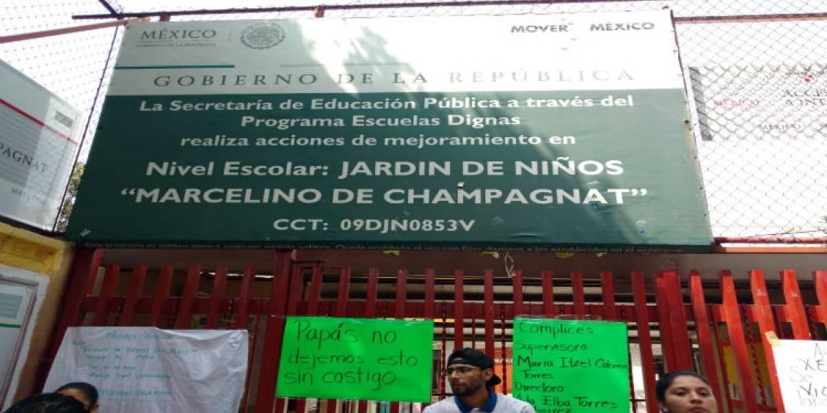 """Niños del kínder """"Marcelino de Champagnat"""" fueron contagiados de herpes"""