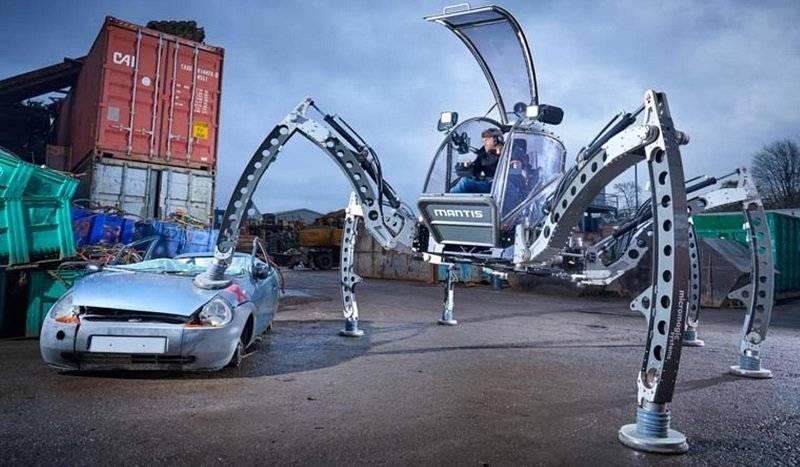 Robot hexápodo