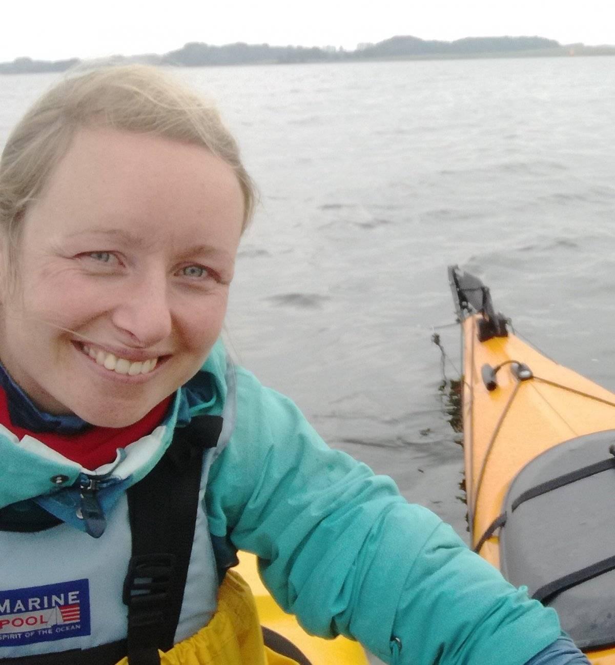 Lena Reimann Investigadora en el departamento de geografía de la Universidad de Kiel, Alemania.