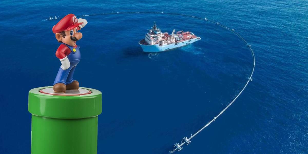 Ocean Cleanup quiere limpiar la basura del Pacífico con esta tubería