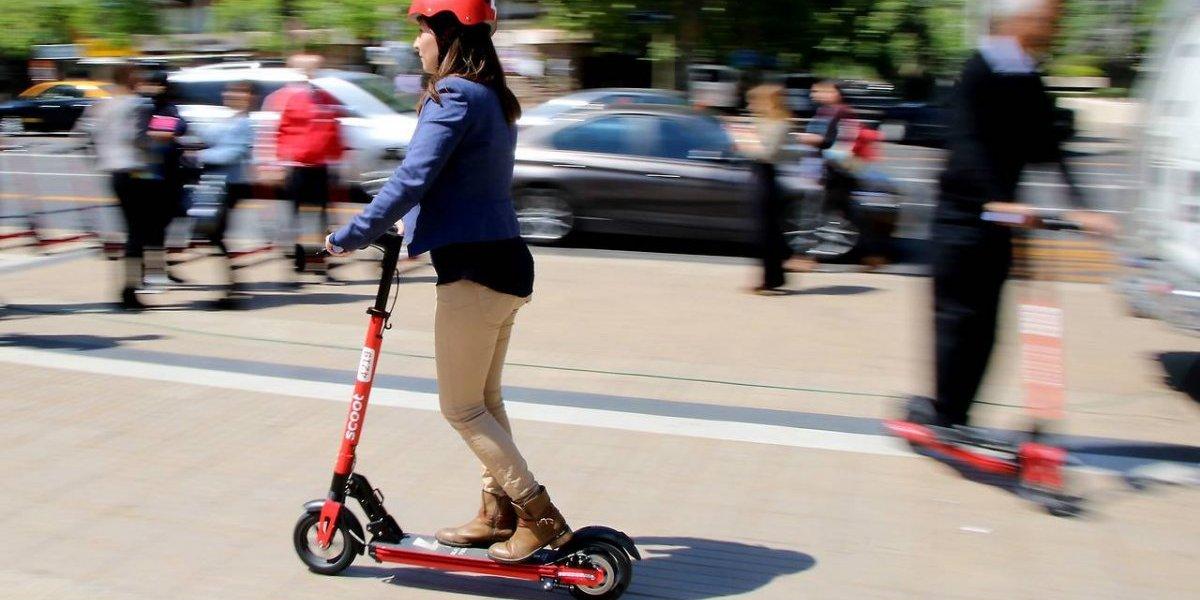 Así funcionarán los scooter eléctricos de Las Condes: serán gratis en la primera semana y luego cobrarán desde $500