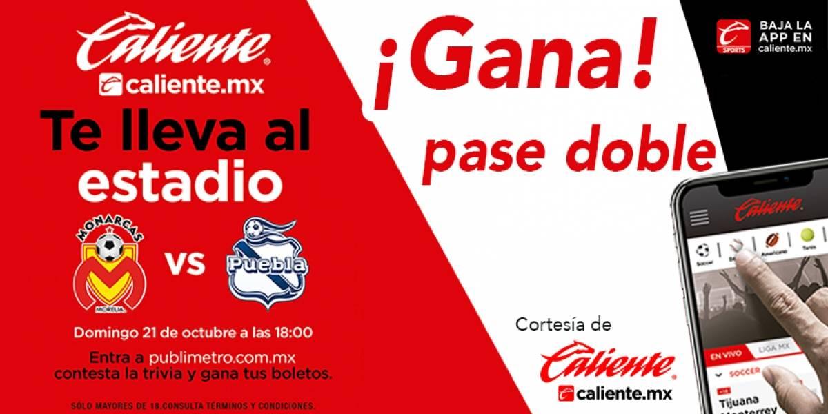 Gana pase doble para el partido Morelia vs Puebla